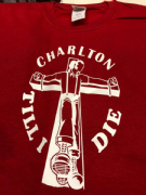 Charlton TILL I DIE T SHIRT (Red)